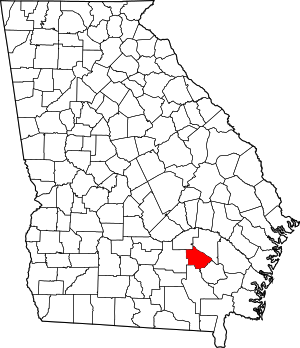 Bacon County, Georgia