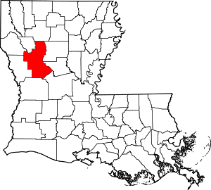 Natchitoches County, Louisiana