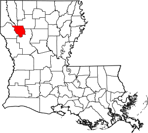 Red River County, Louisiana