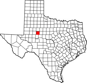Mitchell County, Texas
